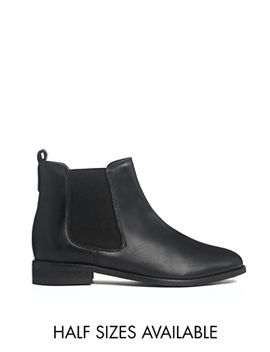 asos-airtime-leather-chelsea-ankle-boots by asos-collection