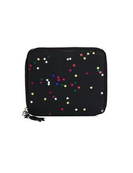 bright-star-neoprene-zip-around-wallet by comme-des-garcons