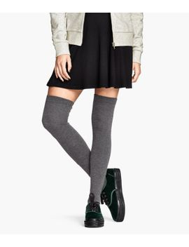 over-knee-socks by h&m