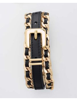 woven-chain-belt by ann-taylor