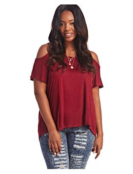 cold-shoulder-tee by wet-seal