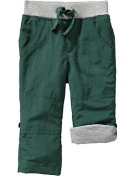 pull-on-nylon-pants-for-baby by old-navy