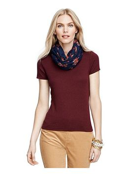 silk-and-cashmere-cap-sleeve-shell by brooks-brothers