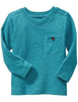 v-neck-pocket-tees-for-baby by old-navy