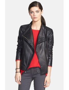 leather-moto-jacket by trouvÉ