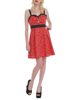 disney-minnie-mouse-cherry-dress by hot-topic
