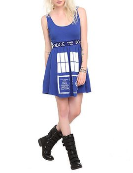 doctor-who-her-universe-tardis-costume-dress by hot-topic