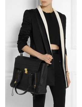 the-pashli-large-shark-effect-leather-trapeze-bag by 31-phillip-lim