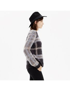 cloudweight-plaid-pullover by madewell