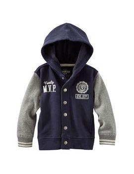 fleece-letter-jacket by oshkosh