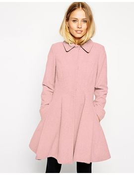 asos-dolly-skater-coat by asos-collection