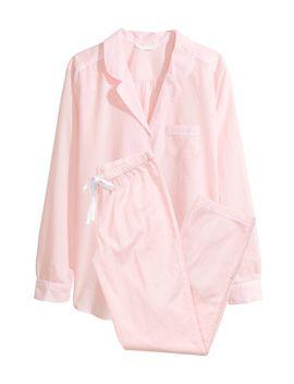 chambray-pajamas by h&m