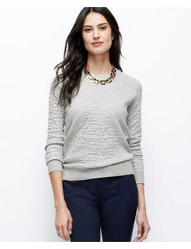 animal-jacquard-sweatshirt by ann-taylor