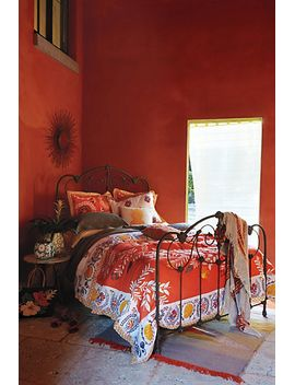 zocalo-embroidered-quilt by anthropologie