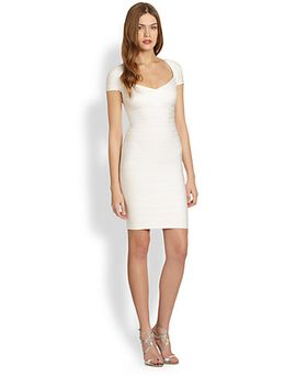 bandage-bodycon-dress by herve-leger