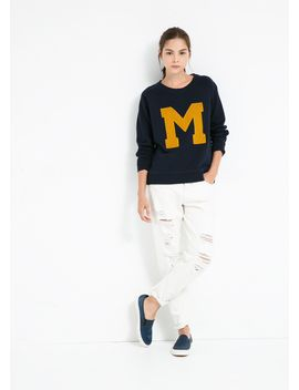 m-sweatshirt by mango