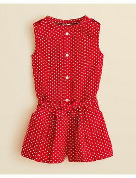 girls-amaryllis-romper---sizes-4-6 by burberry