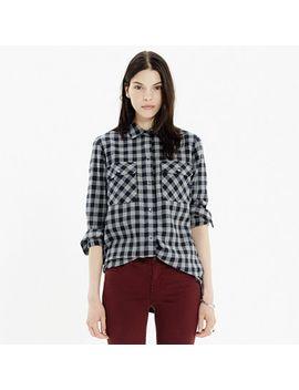 flannel-ex-boyfriend-shirt-in-buffalo-check by madewell