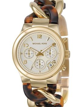 michael-kors-chain-bracelet-chronograph-watch,-38mm by michael-michael-kors