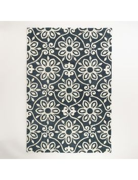 nomad-tile-tufted-wool-area-rug by world-market