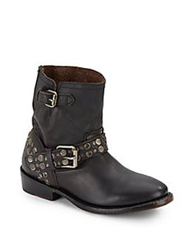 video-studded-leather-ankle-boots_black by ash