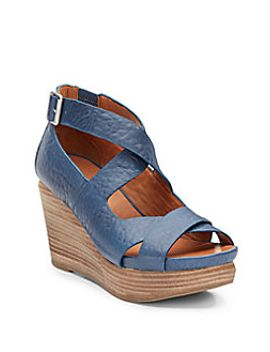 jasione-leather-strappy-wedge-sandals by gentle-souls