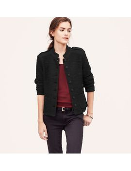 tweedy-admiral-jacket by loft