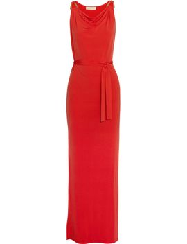 the-outnetstretch-satin-jersey-maxi-dress by michael-michael-kors