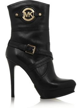the-outnetstockard-leather-boots by michael-michael-kors