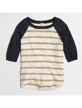 factory-airspun-baseball-sweater-in-stripe by jcrew