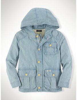 chambray-utility-jacket by ralph-lauren