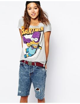 only-bart-simpson-t-shirt by only