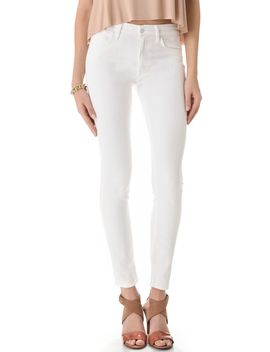high-waist-looker-skinny-jeans by mother