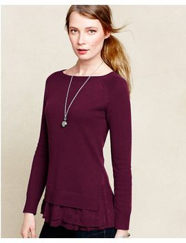 shirttail-cashmere-sweater by garnet-hill