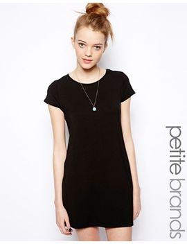 new-look-petite-longline-t-shirt-dress by new-look-petite