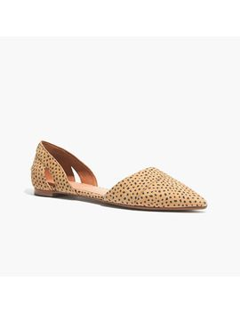 the-dorsay-flat-in-spot-dot by madewell