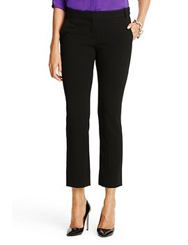 new-carissa-straight-leg-cropped-trouser by dvf