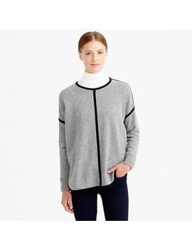 lambswool-tipped-sweater-tunic by jcrew