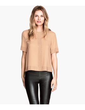 blouse-with-studs by h&m