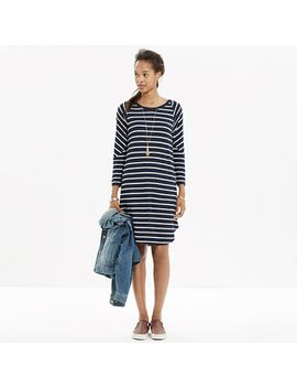 cointoss-dress-in-stripe by madewell