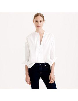 thomas-mason-for-jcrew-collarless-tuxedo-shirt by thomas-mason