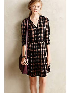 blockprint-plaid-shirtdress by tylho