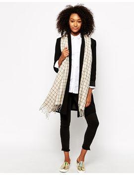monki-nika-oversized-blanket-scarf by monki