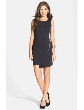 asymmetrical-zip-detail-body-con-dress by want-&-need