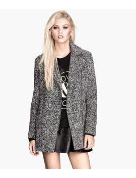 wool-blend-biker-coat by h&m