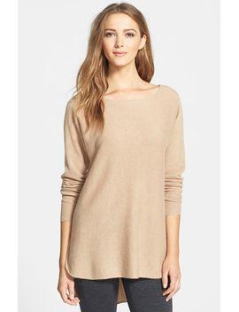 cashmere-shirttail-sweater by halogen®