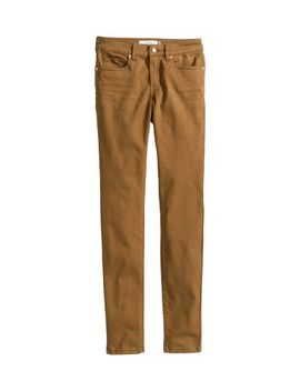 brushed-twill-pants by h&m