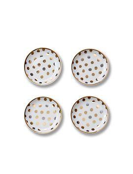 polka-dot-porcelain-coasters-set by cwonder
