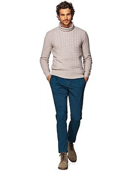 sand-turtleneck by suitsupply