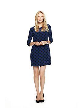 oversized-polka-dots-silk-shift-dress by cwonder